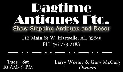 Ragtime Antiques Etc...