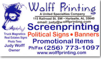 Wolff Printing Services